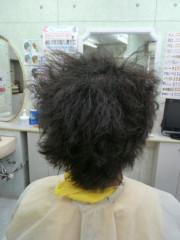 健康毛の強縮毛矯正